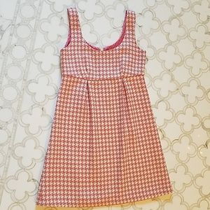Vineyard Vines houndstooth wool dress